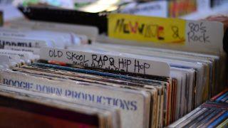 HIPHOPのレコードコーナー